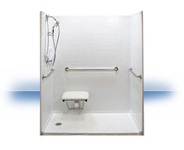 Walk in shower in Biloxi by Independent Home Products, LLC